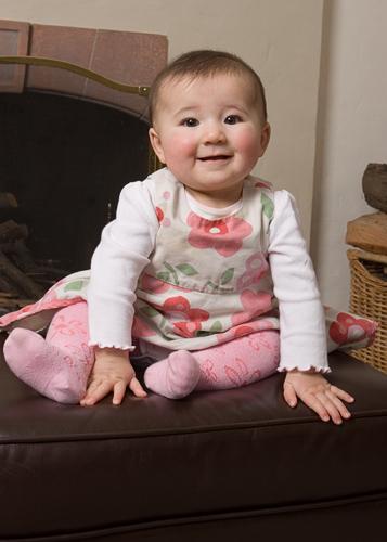 Annie at 7 months